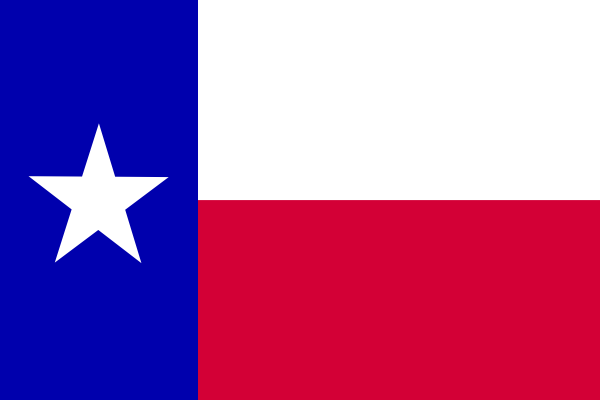 Texas Flag PNG, SVG Clip art for Web.