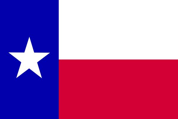 Texas Flag PNG, SVG Clip art for Web.