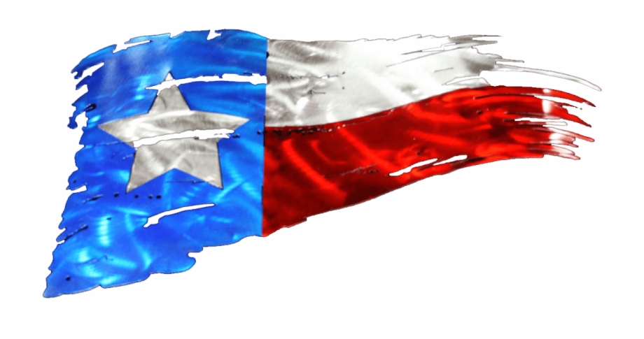 Tattered Texas Flag Metal Art Free PNG Images & Clipart.