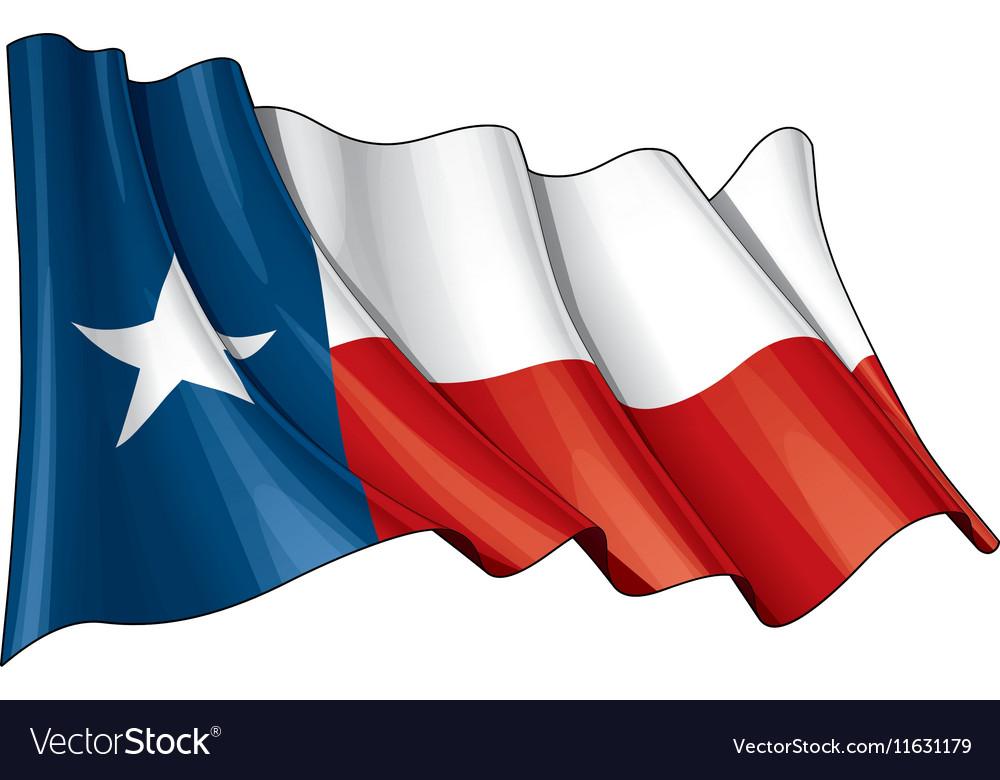 Texas Waving Flag.