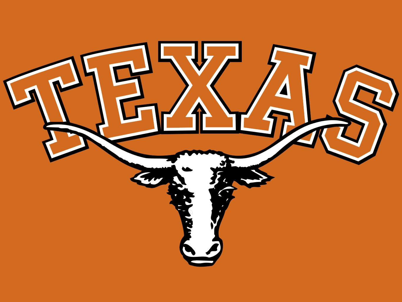 Texas longhorns football Logos.