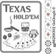 Texas Holdem Clip Art.