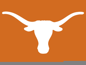 University Of Texas Longhorn Clipart Free.