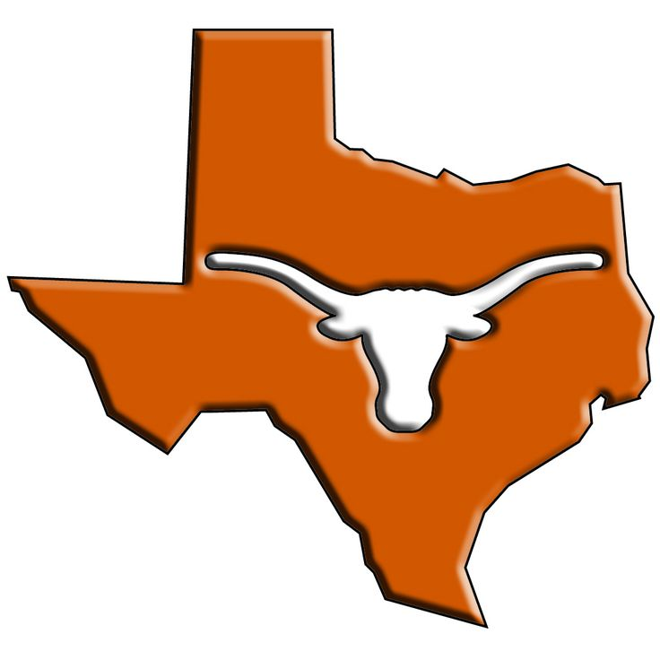 Texas Longhorns Clipart.