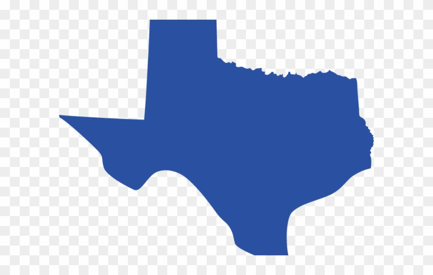 Map Clipart Texas.