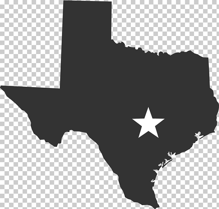 Texas Blank map , sent PNG clipart.
