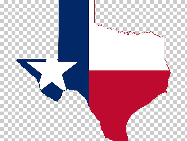 Flag of Texas Map, map PNG clipart.