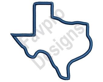 Texas outline.