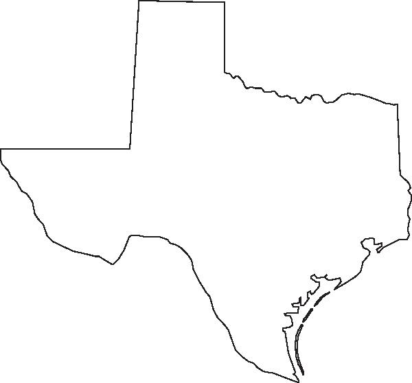 Texas Outline Clip Art at Clker.com.