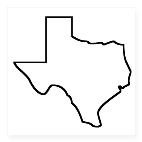 Texas outline clipart free images 3.