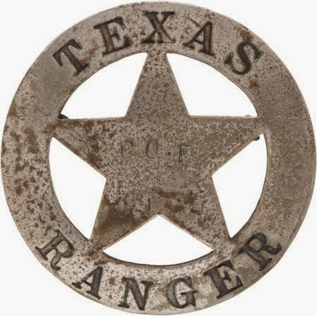 the NAVASOTA CURRENT: Texas Ranger Badges and those that.