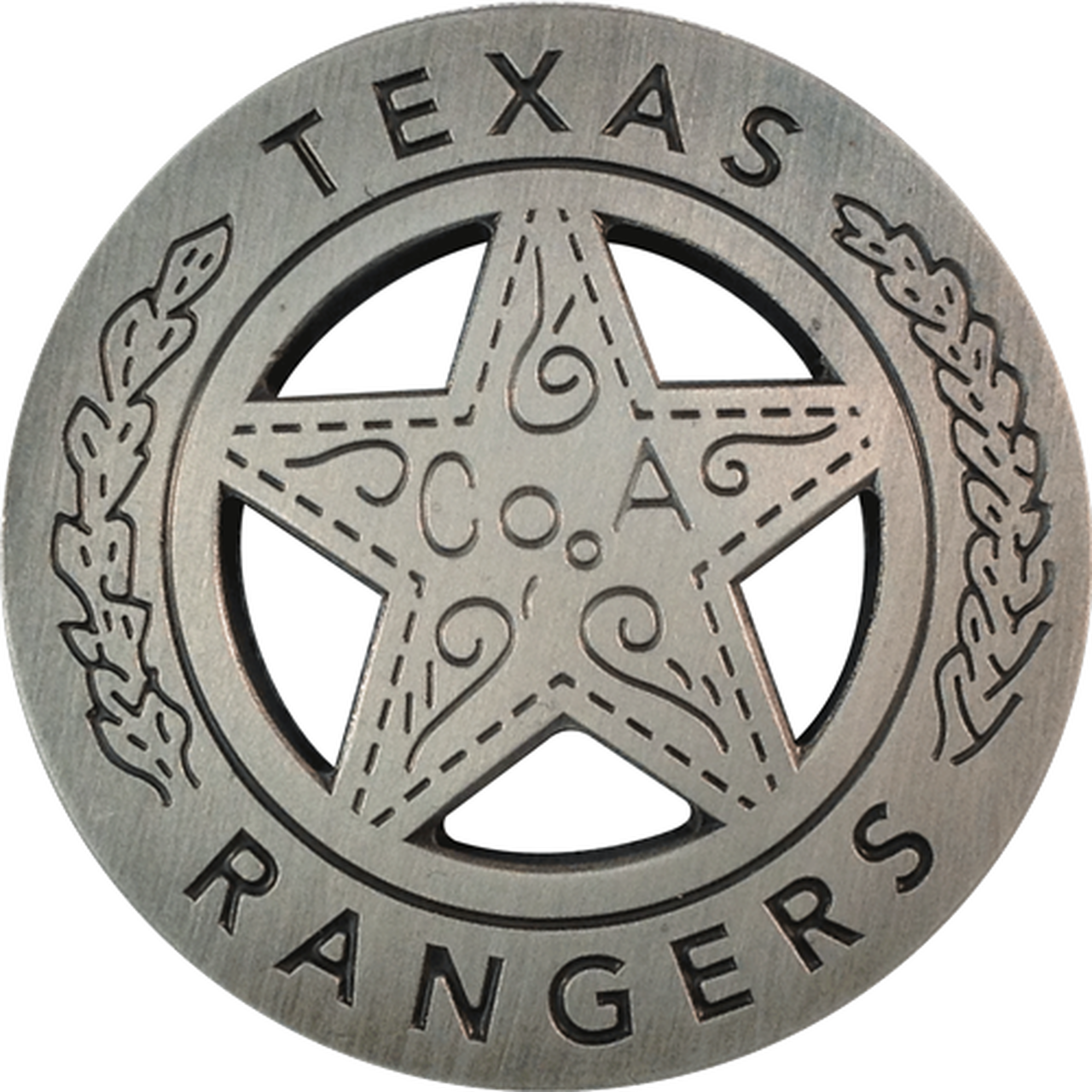 ReadyGolf: Texas Rangers Badge Ball Marker & Hat Clip.