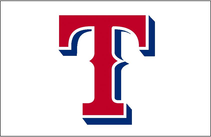 Texas Rangers Jersey Logo.
