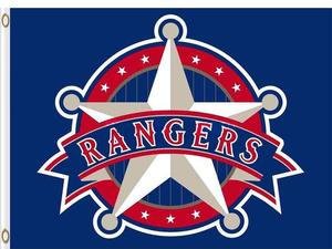 Texas Rangers Baseball Club flag 3ftx5ft.