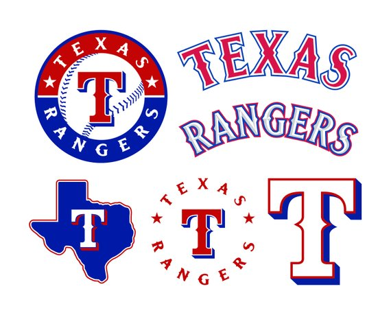 Texas Rangers Cut Files, Texas Rangers SVG Files, Texas.