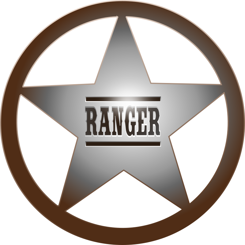 Free Clipart: (Texas) Ranger Star.
