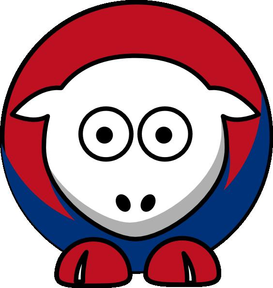 Sheep Texas Rangers Colors Clip Art at Clker.com.