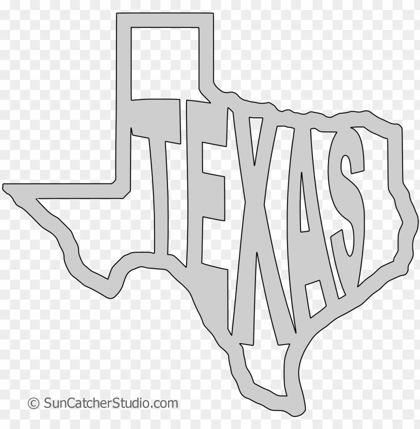 texas map shape text, outline scalable vector graphic.