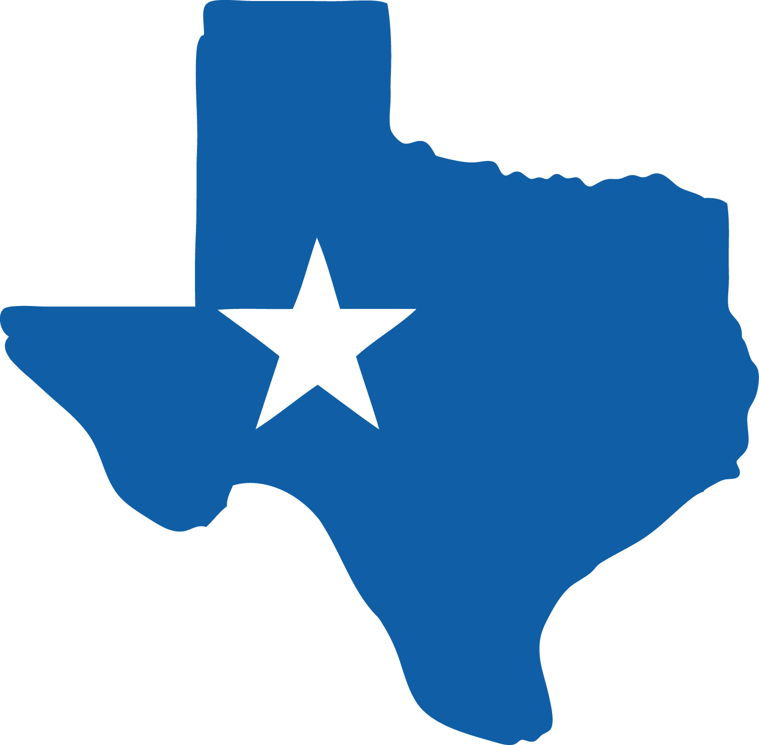 12 Texas State Vector Silhouettes Clip Art Images.