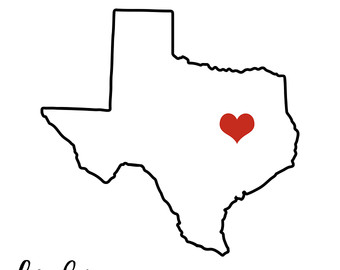 Texas State Silhouette at GetDrawings.com.