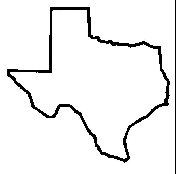 Texas Silhouette Png (+).