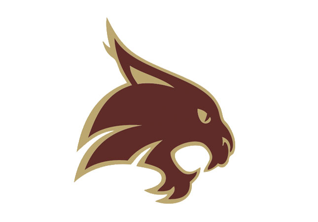 Texas State Bobcats logo.