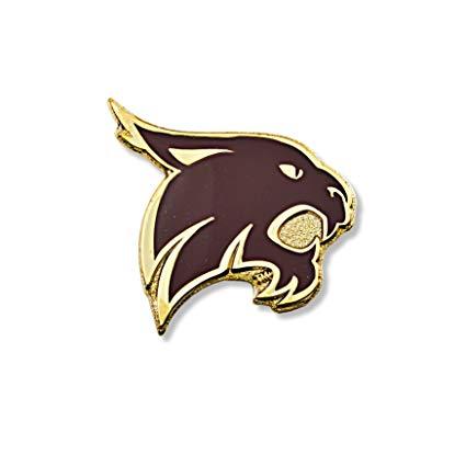 Amazon.com : NCAA Texas State Bobcats Logo Pin : Sports.
