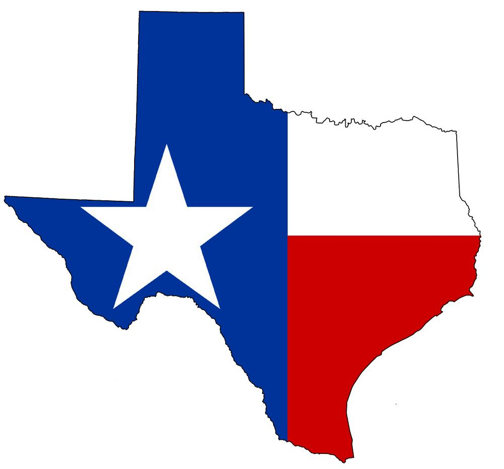 Texas State Flag Clip Art N20 free image.