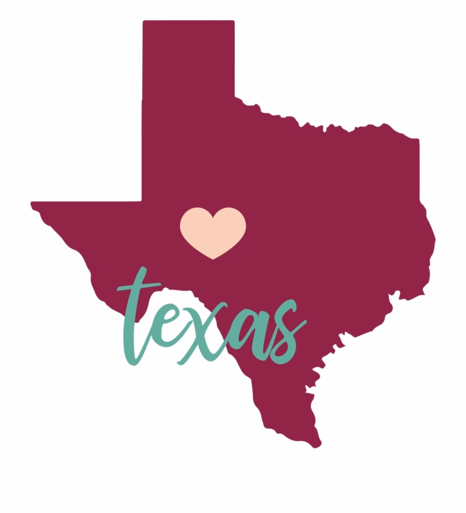 Texas State Svg Cut File.