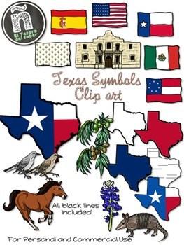 Texas symbols clipart 6 » Clipart Portal.