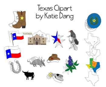 Texas Symbols Clipart Worksheets & Teaching Resources.
