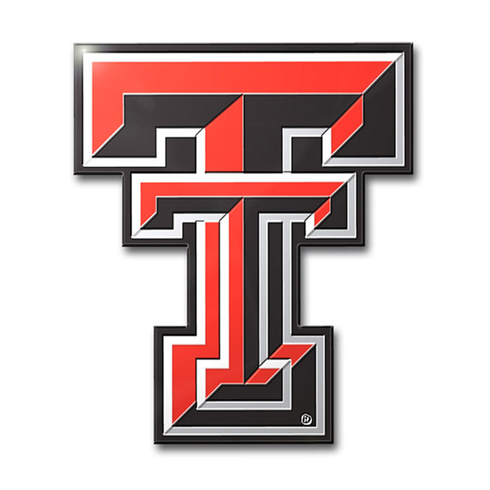 Details about Texas Tech Red Raiders Primary Logo Color Aluminum Car Auto  Emblem.