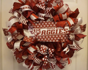Aggie wreath.