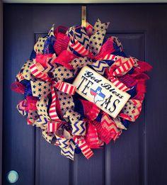 Texas Wreath By Ba Bam Wreaths.