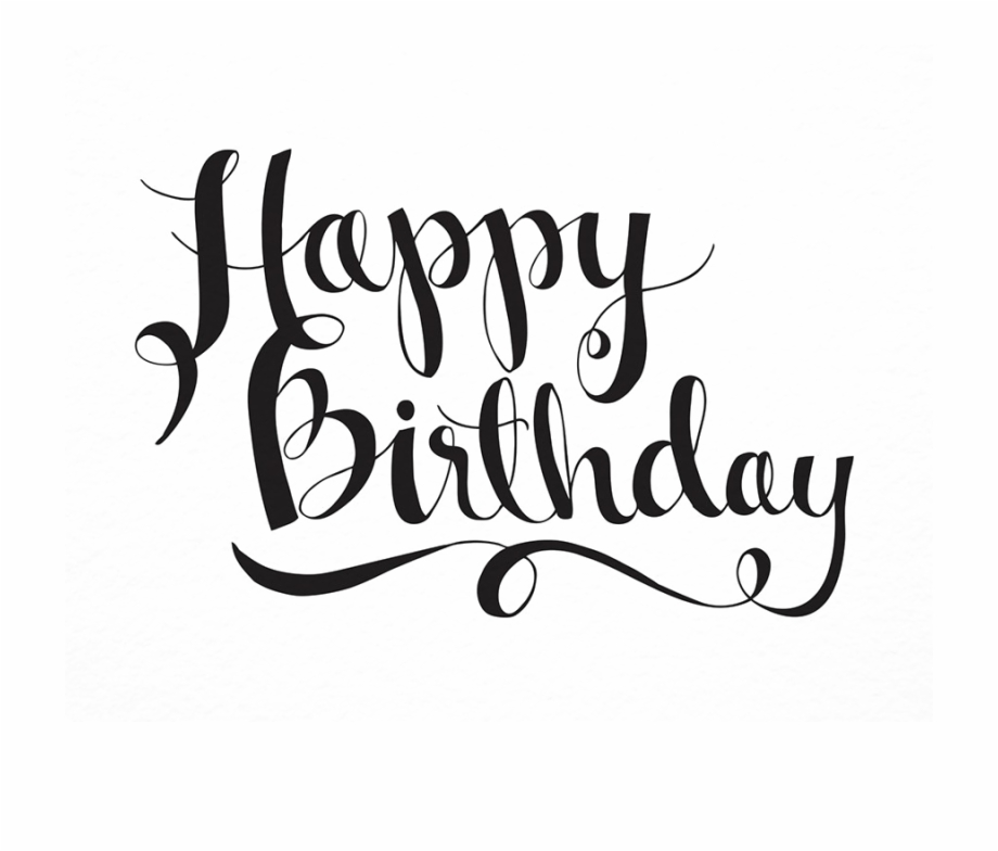 Happy Birthday Letter Png Free Download.