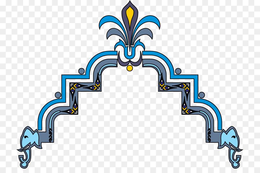 Islamic Background Design clipart.