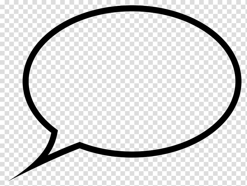 Speech balloon Thought , text bubble transparent background.
