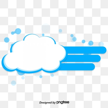 Clouds Text Box PNG Images.