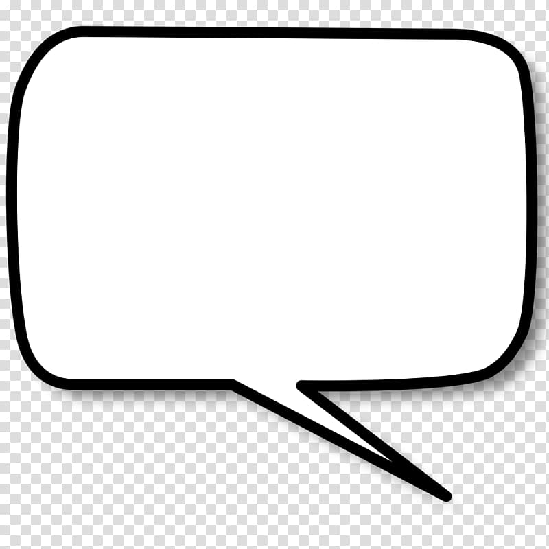 White message box illustration, Side Text Bubble transparent.