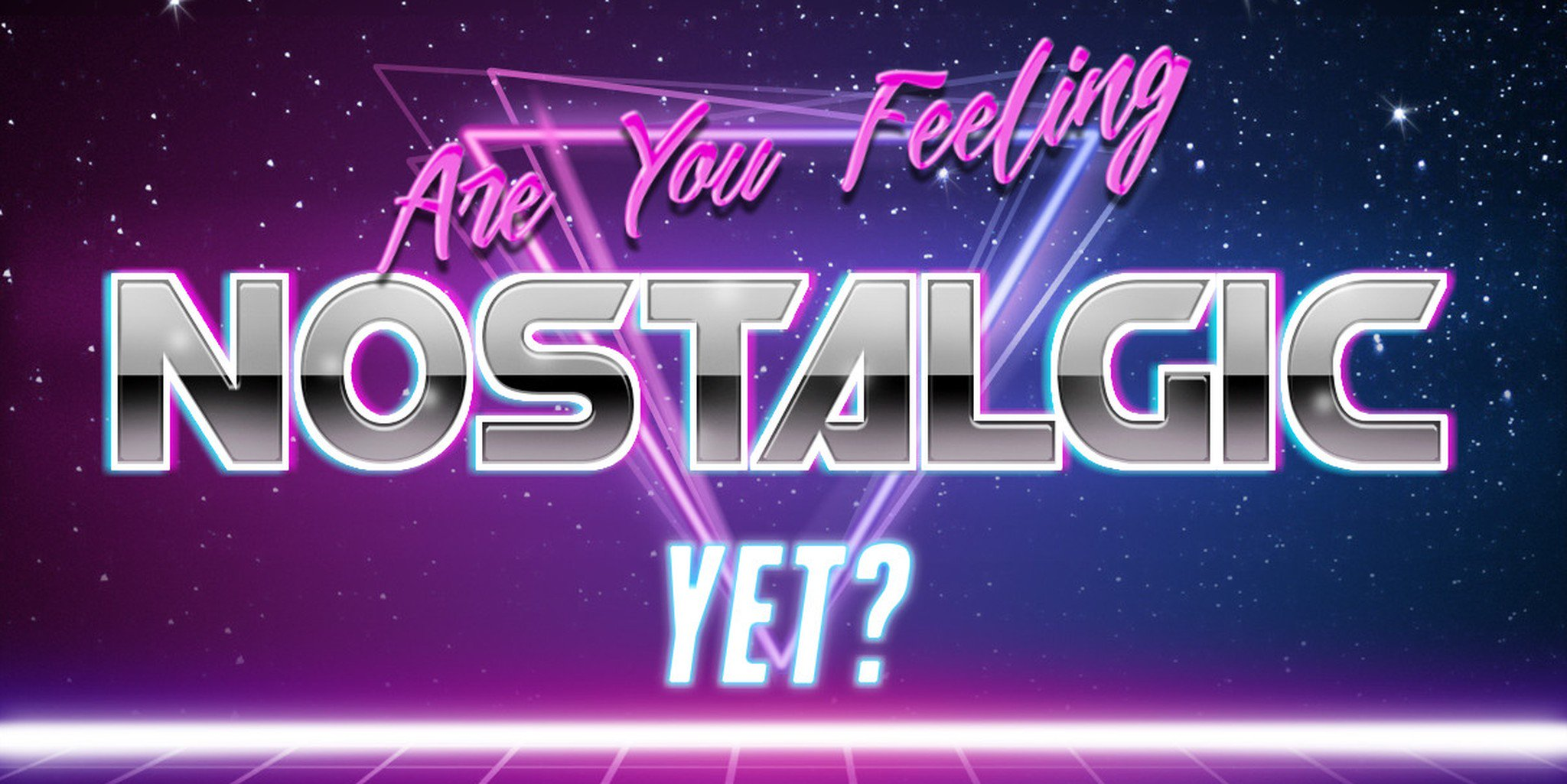 This \'80s Aesthetic Text Generator Is Pretty Rad and Totally.