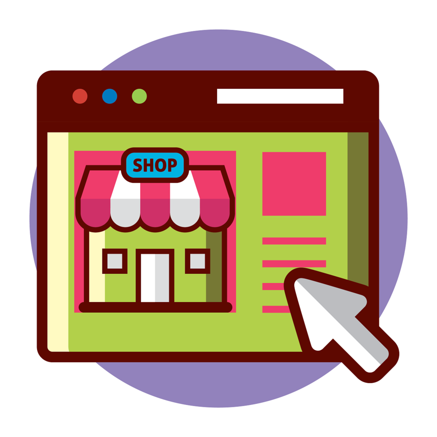Shopping Icon clipart.