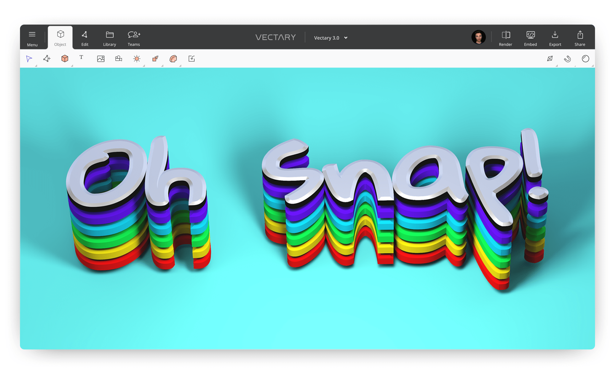 How to create 3D text online and for free.