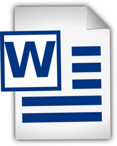 Text Document Icon Clip Art at Clker.com.