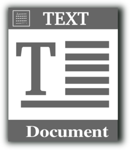 Text File Icon Clip Art at Clker.com.