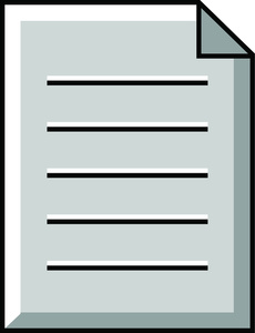 Document Clipart Image.