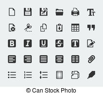 Text editor Clipart Vector and Illustration. 479 Text editor clip.
