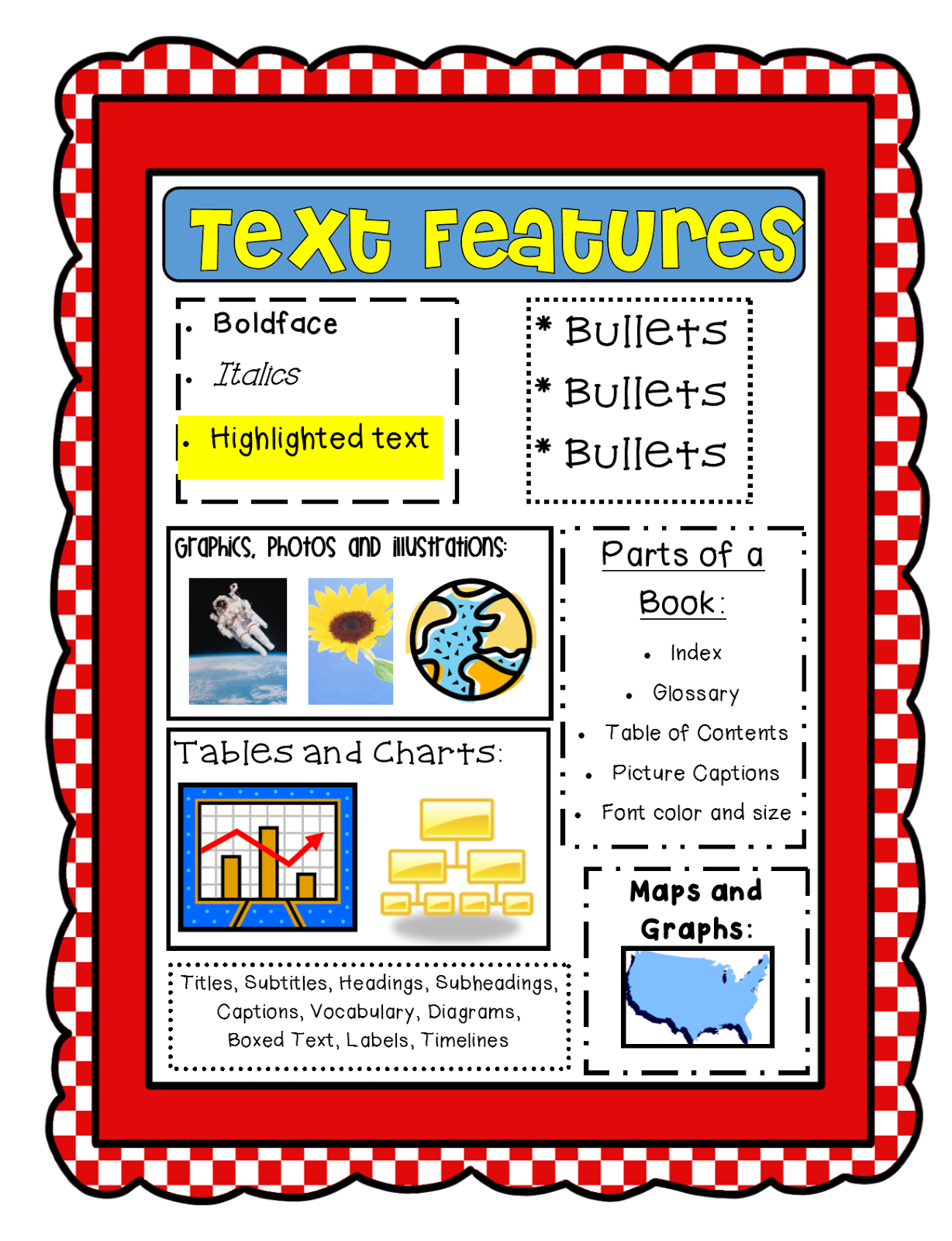 Pictures of text features clipart images gallery for free.