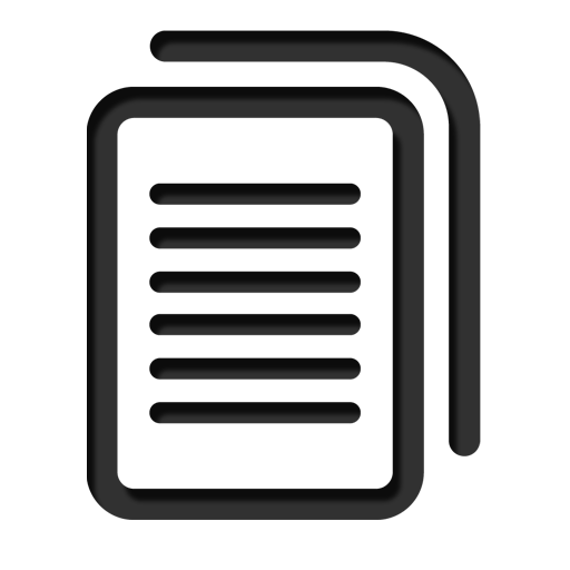 Defult, text icon.