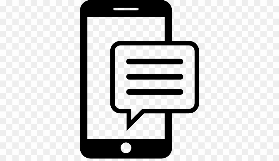 Mobile Message Icon PNG Sms Text Messaging Clipart download.