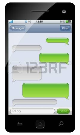 452,716 Text Message Stock Vector Illustration And Royalty Free.